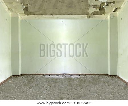 gloomy empty room