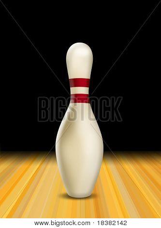 Tenpin Bowling Skittle