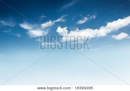 background of dark cloudy sky