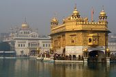 picture of harmandir sahib  - Harmandir Sahib on a bright sunny day - JPG