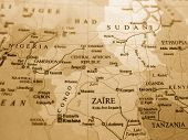 stock photo of land-mass  - Central Africa - JPG