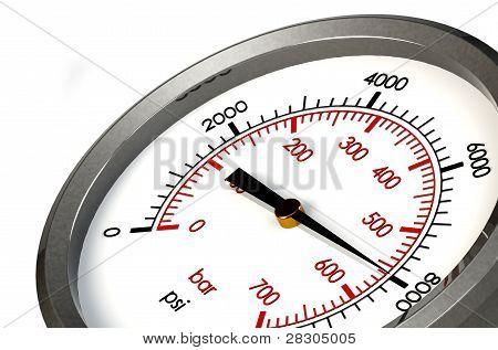 Pressure Gauge 8000 Psi