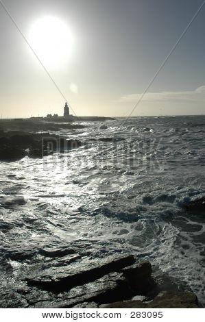Swirling Seas At Hook Head