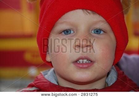 Speeking Pertty Boy In Red