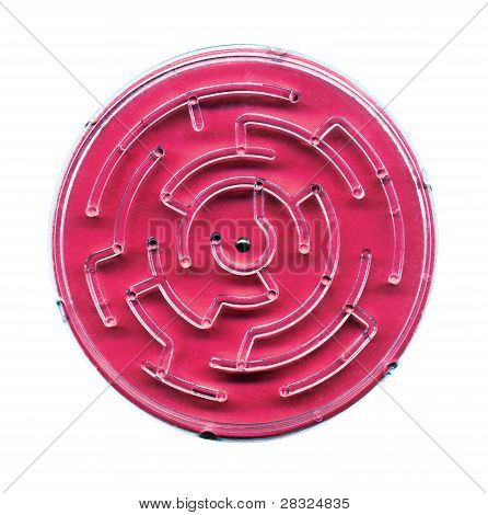 Labyrinth On A White Background