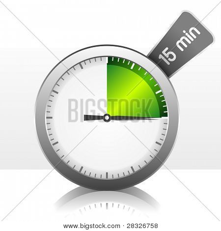 Timer. Vector Illustration