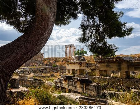 Ruins Of Ancient City Of