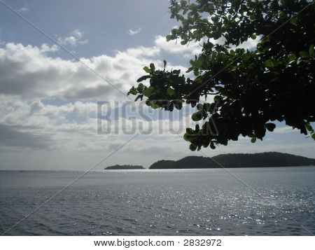Ocean View With Island