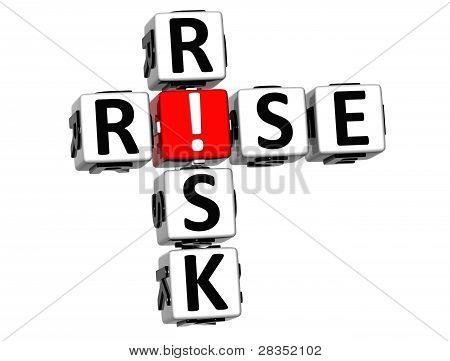 3D Rise Risk Crossword