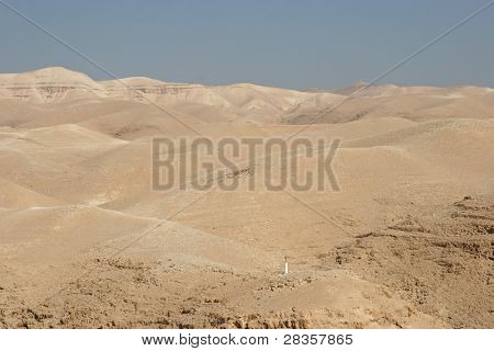 View on Cross, Judea desert, Israel