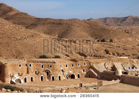 Bedouin house in Tunisia