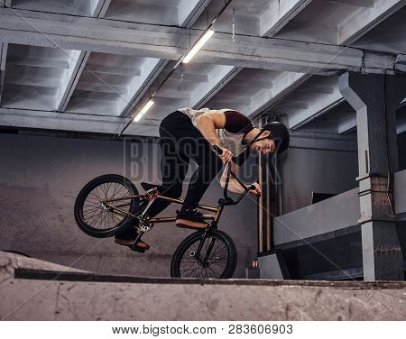 Bmx Freestyle Young Bmx Making