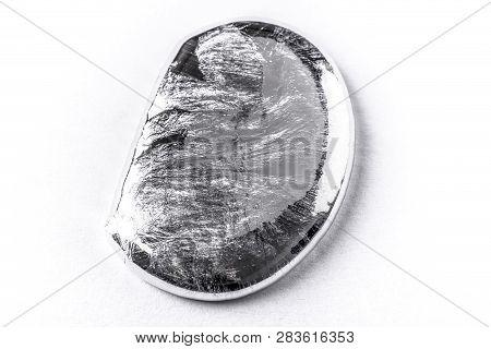 Photo Of Liquid Metal Drop