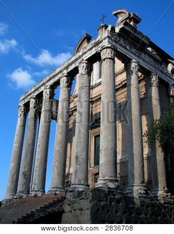 Roman Forum Temple