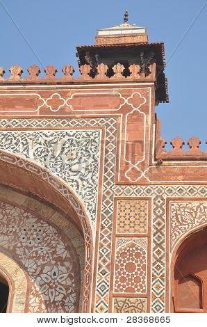 Akbar's Tomb at Sikandra