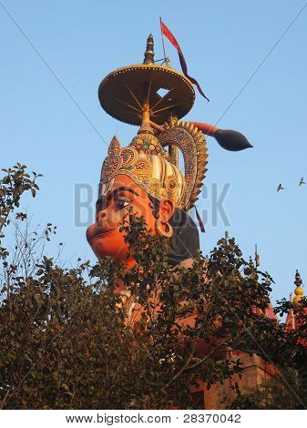 Hanuman Statue in Delhi, India