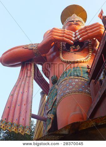 Hanuman Statue in Delhi, India