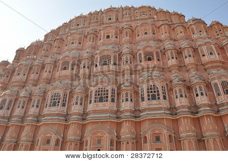 Hawa Mahal in Jaipur, India
