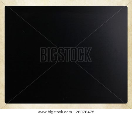 Blackboard / Chalkboard Texture. Empty Blank Black Chalkboard.