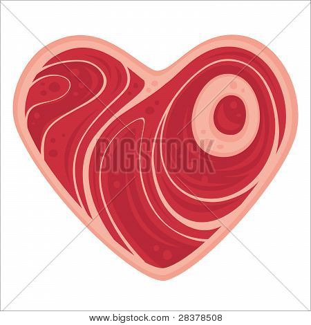 Corazón de carne