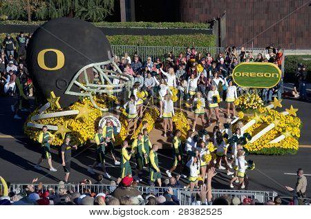 2012 Tournament of Roses Parade-Oregon