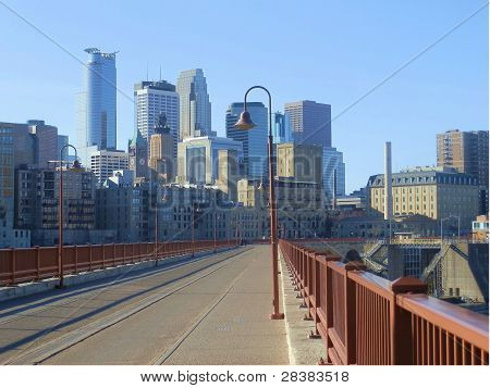 Stone Arch Bridge View
