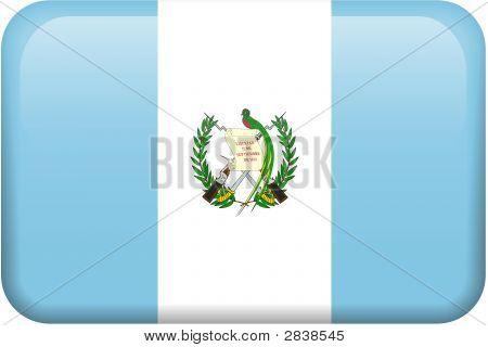 Guatemala Flag Button