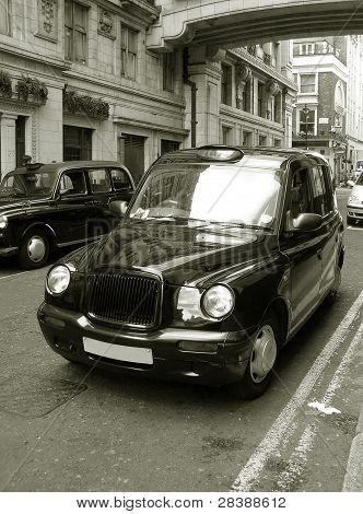 Classic Old London Cab