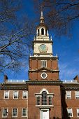 picture of 1700s  - Famous historical landmark in Center City Philadelphia USA - JPG
