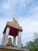 image of budha  - A Budha in holy house in Thailand - JPG