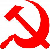 stock photo of communist symbol  - Hammer and Sickle  - JPG