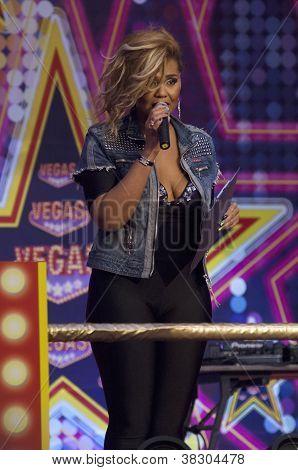Kornelia Mango In Bigest Moll In Europe Vegas