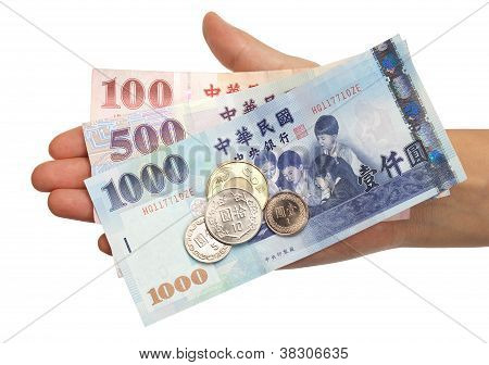 Standard Taiwanse Coins And Bills