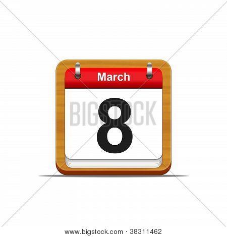 8. März.