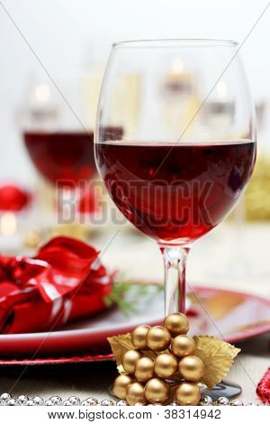 Holiday Red Wine