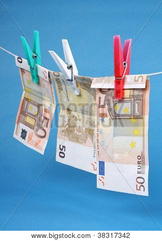 Laundering Of Fifty Euro Bills