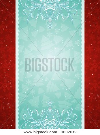 blau Christmas Background, vector