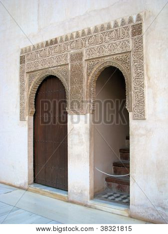 Alhambra Doors, Granada