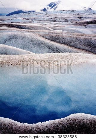 Juneau Alaska Taku Glacier