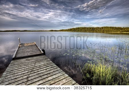 Northern Saskatchewan Lake