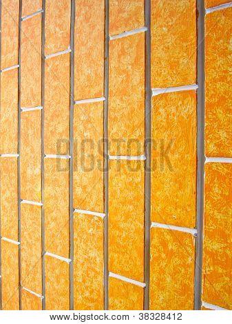 Vertical Orange Walls
