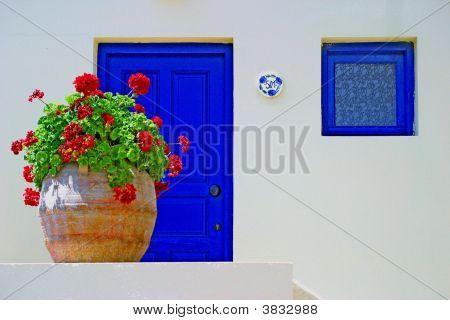 A Small House In Crete Number