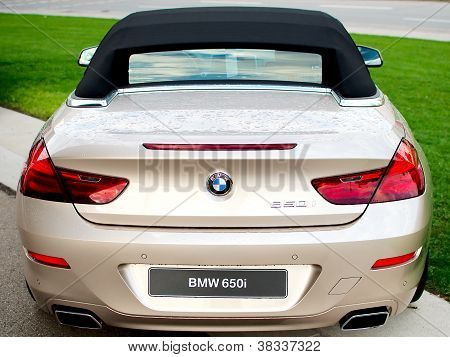 BMW 650i rear closeup