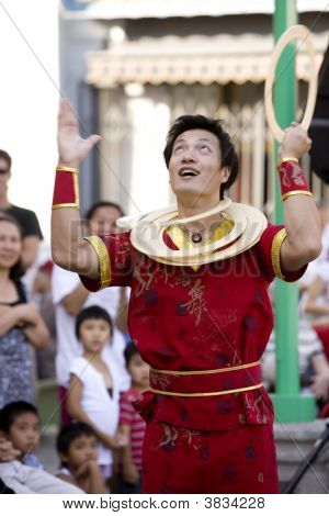 Chinese Juggler