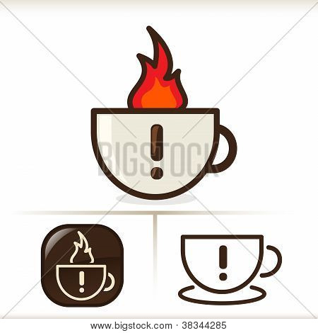 Warning - Hot Coffee!