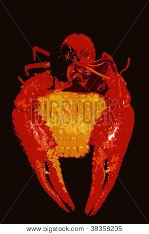 Crayfish and Corn