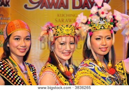 Native Beauties In Traditional Costumes