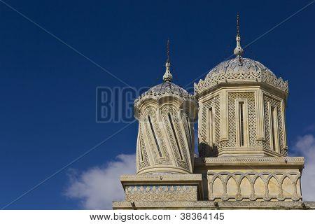 Towers of Curtea de Arges Monastery