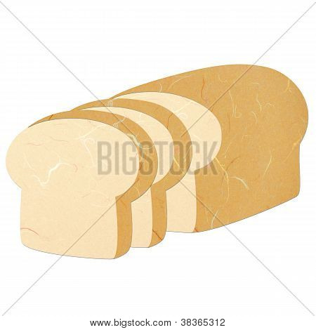 Rice Paper Cut Sliced Bread