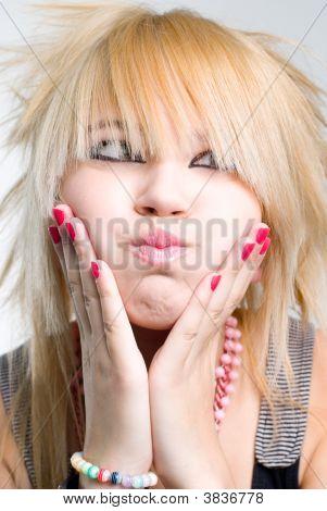 Emo Girl Portrait